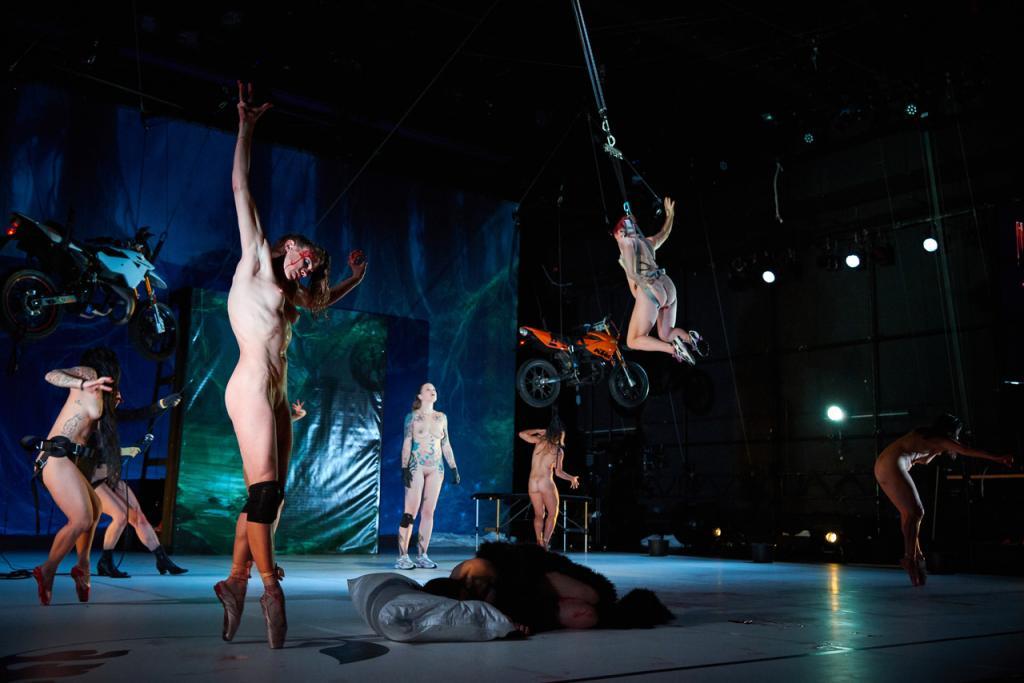 'La Sylphide': de trashy versie